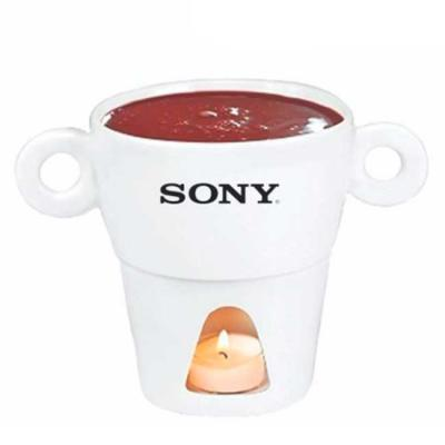 Skill Brindes Promocionais - Fondue porcelana personalizado
