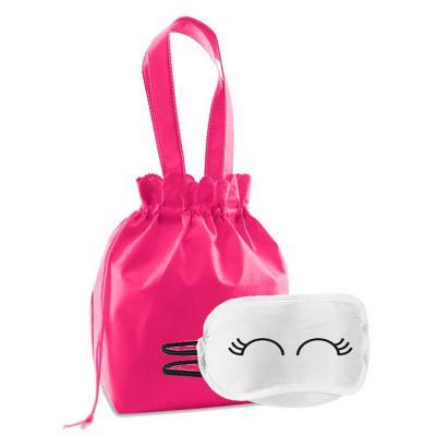 Skill Brindes Promocionais - Kit bem estar com máscara e bolsa