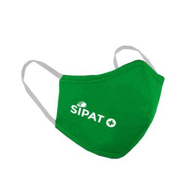 Skill Brindes Promocionais - Máscara de proteção Verde personalizada
