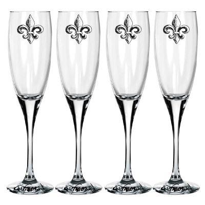 Mãos & Arte - Jogo de taças de champagne