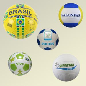 Madson Brindes - Bolas promocionais de futebol, volley, basquete ou Mini, em EVA, Vinil ou Couro.