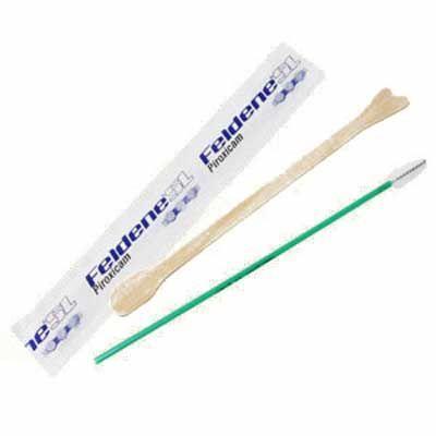 Madson Brindes - Kit ginecológico contendo espátula de Ayre e escova cervical. Adquira já um kit com qualidade garantida!
