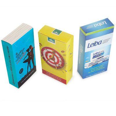 Madson Brindes - Lenço de bolso em caixinha, com 10 lenços de papel.