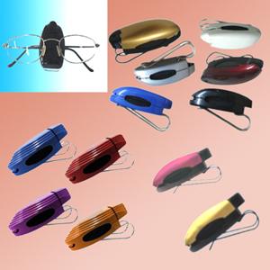 madson-brindes - Porta óculos para quebra sol de auto.