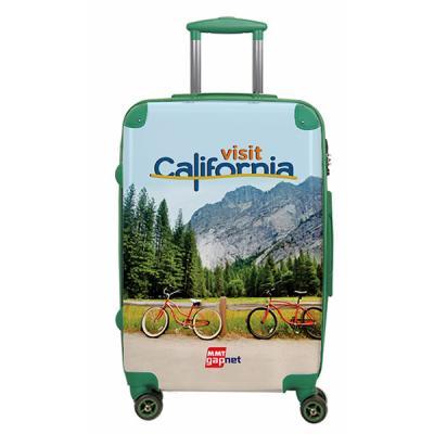 Lansay - As malas da Linha Cristal são confeccionadas em policarbonato com frente transparente, o que permite que sua imagem aplicada no interior da mala, fiqu...