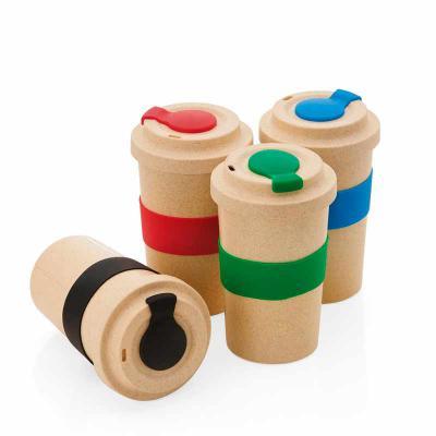 Fabrika de Chaveiros - Copo fibra de bambu 450ml