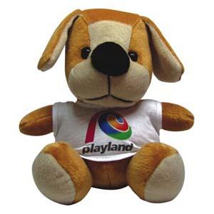 Light Toys - Cachorro pelúcia Playland.