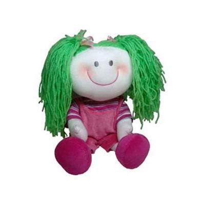 Light Toys - Mascote de pelúcia da série As Cabeludas - Gabriela.