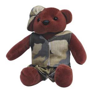 Light Toys - Mascote de pelúcia Shopping D.Pedro - Coleção Ursos - Mod. 02.