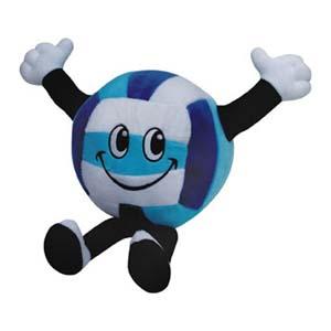 Light Toys - Mascote de pelúcia bola Ações Sociais Reunidas.