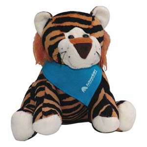 Light Toys - Mascote de pelúcia Tigre Advantan.