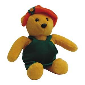 Light Toys - Mascote de pelúcia Shopping D.Pedro - Coleção Ursos - Mod. 07.