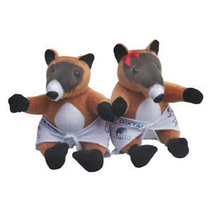 Light Toys - Mascotes de pelúcia Babys Quatis Dixtal.
