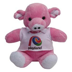 Light Toys - Porco de pelúcia Playland.
