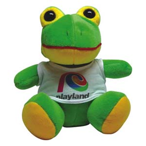 Light Toys - Sapo pelúcia Playland.