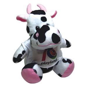 Light Toys - Vaca de pelúcia Playland.