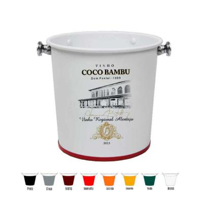 Alumiart Falcão - Balde Coco Bambu