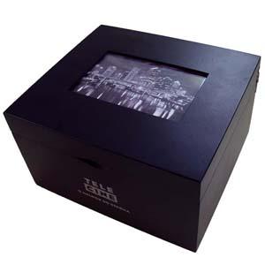 Brindes da Terra - Estojo de madeira com acabamento especial com pintura com cores a escolher, sob medida. Caixa modelo porta retrato de madeira MDF acabamento especial,...