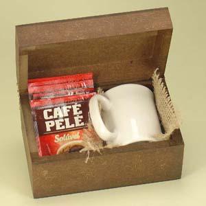 Brindes da Terra - Kit caneca e café