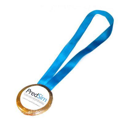 Doce Pecado Chocolates Especiais - Medalha de chocolate