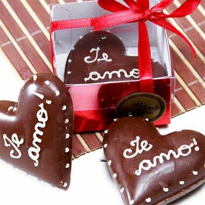 Doce Pecado Chocolates Especiais - Coração de chocolate