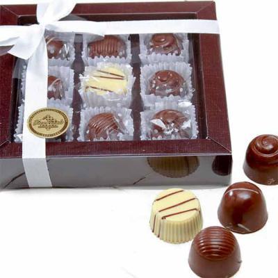 Doce Pecado Chocolates Especiais - Caixa personalizada com bombons