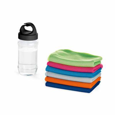 Elo Brindes - Conjunto de toalha e garrafa personalizado