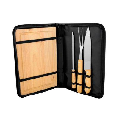 Elo Brindes - Kit churrasco personalizado estojo