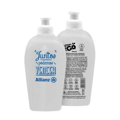 elo-brindes - Álcool em Gel 70 300ml personalizado