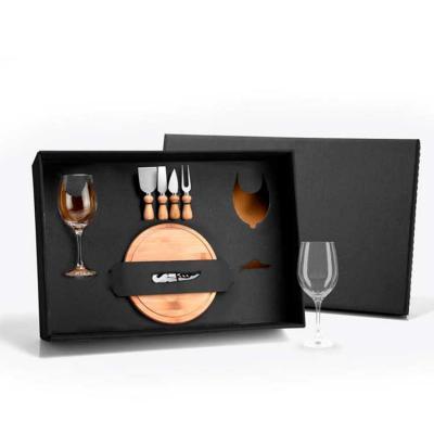 Elo Brindes - Kit vinho e queijo personalizado