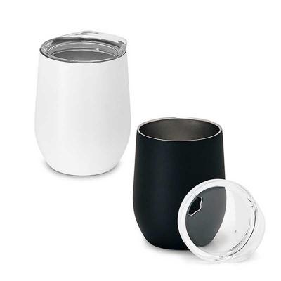 Elo Brindes - Excelente brinde personalizado para empresas! O copo inox personalizado possui capacidade de 400 ml e gravação da sua marca a laser ou em tampografia....