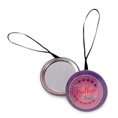 elo-brindes - Espelho de bolsa personalizado