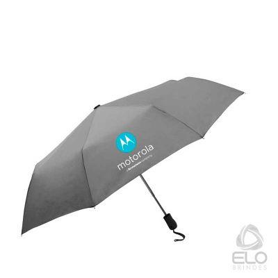 Elo Brindes - Guarda-chuva automático abre e fecha. Tecido PONGEE, disponível somente em cores sortidas.  Armação alumínio, vareta fibra de carbono,cabo com botão a...