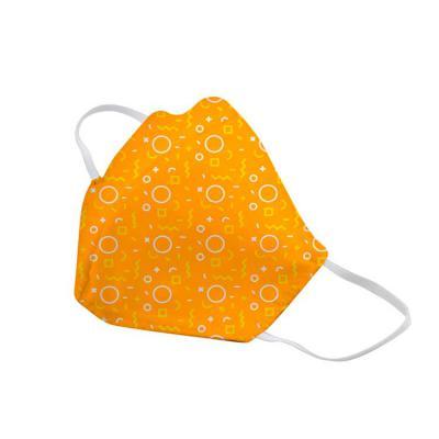 Elo Brindes - A máscara de tactel é confeccionada em tecido dulpo com elásticos. O produto tem o intuito de ajudar a diminuir a disseminação de doenças. Disponível...