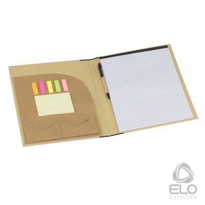 elo-brindes - Pasta convenção em papel kraft.