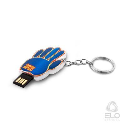 Elo Brindes - Pen drive em acrílico personalizado.