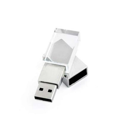 Elo Brindes - Pen drive de vidro personalizado