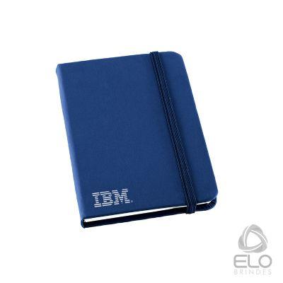 Elo Brindes - Porta-recado / Caderneta de Bolsa contendo 80 folhas sem pautas.