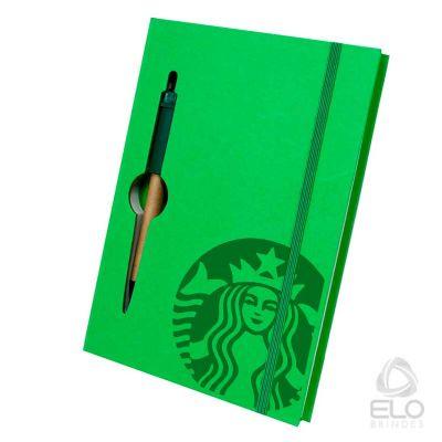 Elo Brindes - Caderno com capa dura