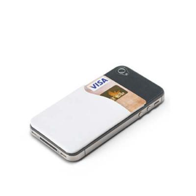 globo-brindes - Porta cartões para celular