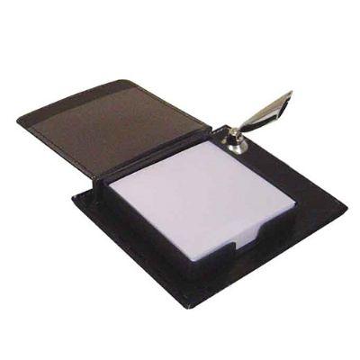 Globo Brindes - Porta caneta com bloco para anotação
