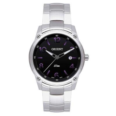 b2e313a2103 orient-relogios - Relógio de pulso personalizado com visor preto.