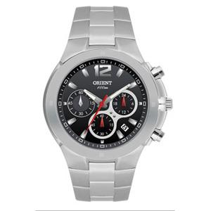 Orient Relogios - Relógio de pulso com calendário, cronógrafo e caixa em aço inoxidável.