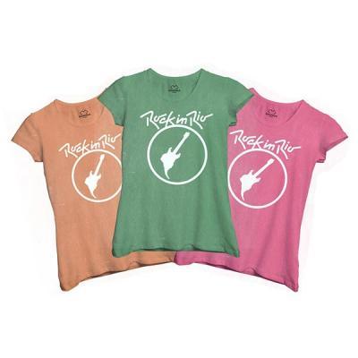 Camisa Dimona - Camiseta estonada feminina baby long personalizada com cores variadas