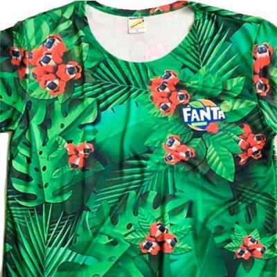 Camisa Dimona - Camiseta em DryFit com ação antibacteriana. Personalizada com gravação em Sublimação Total. 100% poliéster.  Tamanhos: P ● M ● G ● G...