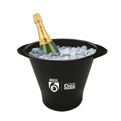 Promoline Brindes Personalizados - Balde de Gelo Garrafas com Alças em PP 5 litros