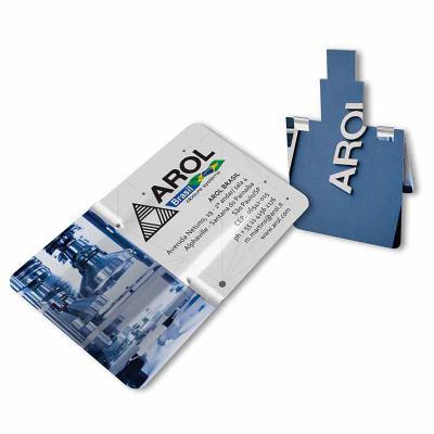Promoline Brindes Personalizados - Pen drive card slim card de 4 GB