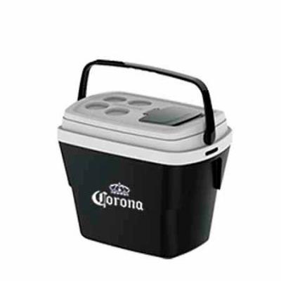 Promoline Brindes Personalizados - Caixa Térmica Modelo Tropical com capacidade para 28 litros design diferenciado, exclusiva tampa de acesso rápido que facilita o uso, alças laterais e...