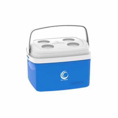 Promoline Brindes Personalizados - Caixa Isot�rmica Modelo Tropical com capacidade para 12 litros ( cabem 18 latas de 350 ml ou 12 latas de 473 ml ), medidas externas: 344 mm com. X 234...