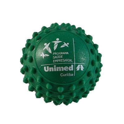 Promoline Brindes Personalizados - Anti Stress bola com cravinhos em vinil